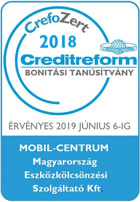 Mobil-Centrum Magyarország Eszközkölcsönzési Szolgáltató Kft